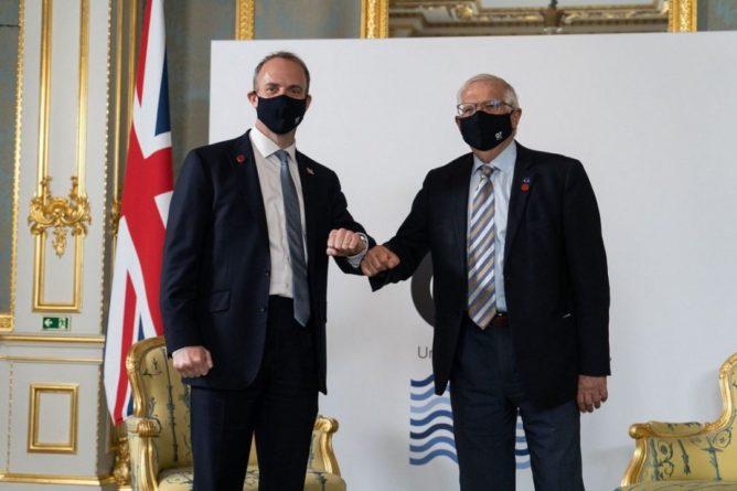 Общество: Евросоюз и Великобритания договорились о создании дипмиссии ЕС в стране