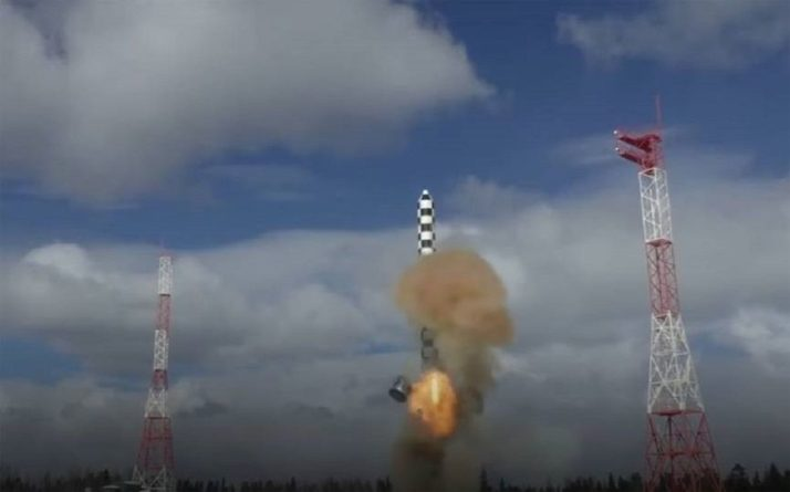Общество: Зарубежные СМИ: ракета «Сармат» ВС России способна уничтожить Англию