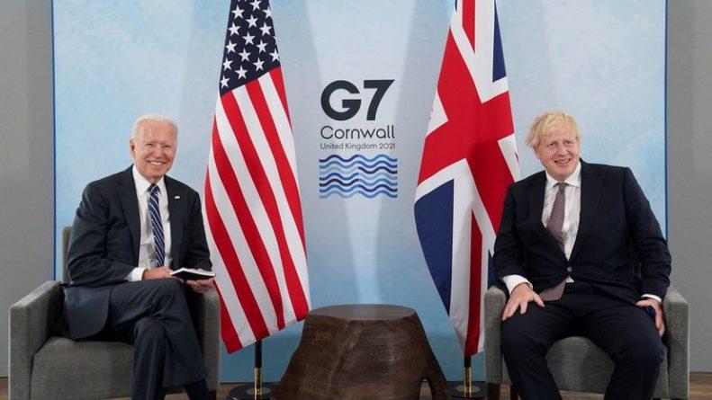 Общество: Джонсон и Байден обсудили Афганистан, Китай, Иран и Россию