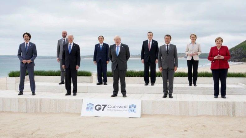 Общество: Первый день саммита «Большой семерки» в Великобритании