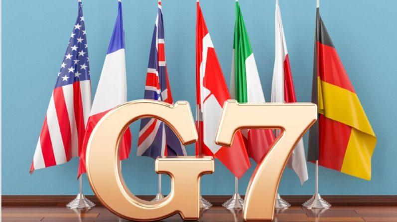 Общество: В Британии открылся первый за время пандемии очный саммит G7: видео