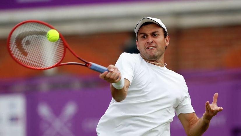 Карацев проиграл Норри во втором круге турнира ATP в Лондоне