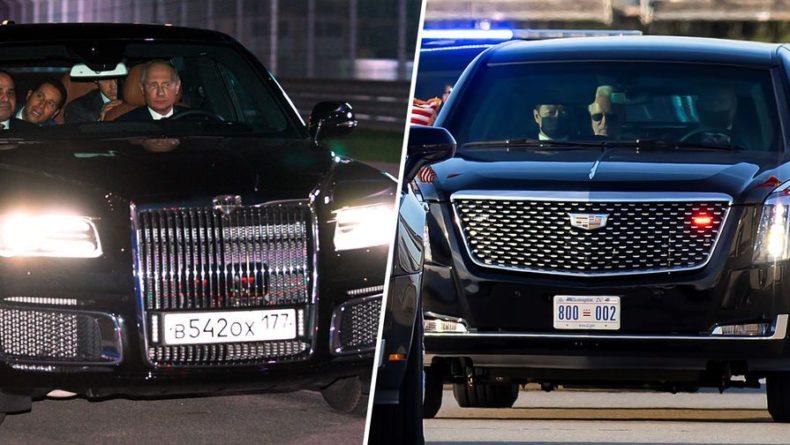 Общество: В Великобритании сравнили Cadillac Байдена и Aurus Путина