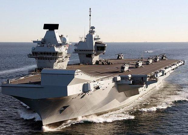 Общество: Baijiahao: Великобритания по ошибке подставила под удар РФ авианосец HMS Queen Elizabeth в Средиземном море
