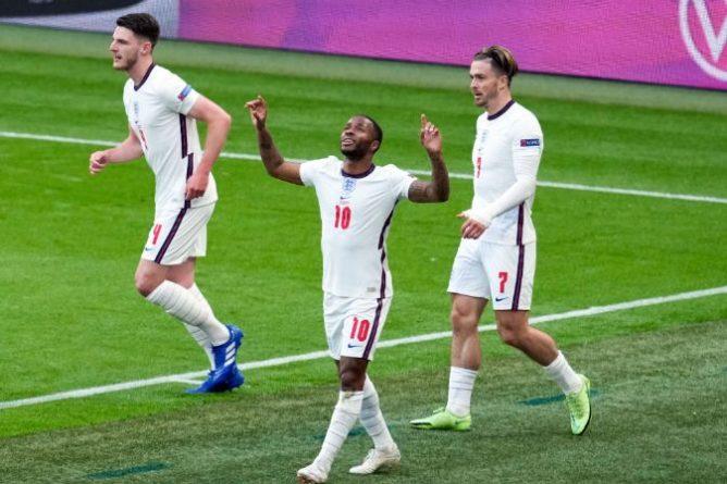 Общество: Англия с двумя забитыми голами на Евро выиграла свою группу