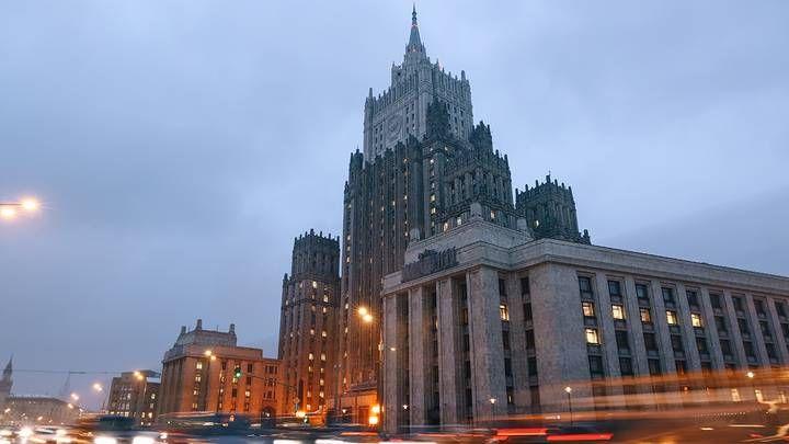 Общество: МИД РФ выразило послу Британии решительный протест из-за инцидента в Черном море