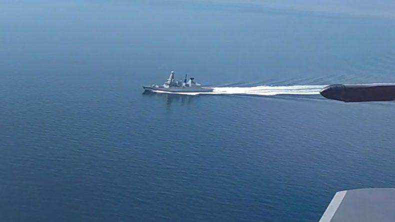 Общество: В Минобороны Британии прокомментировали инцидент с эсминцем в Черном море