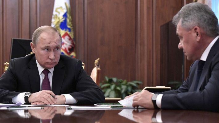 Общество: Путин дал особое поручение Шойгу после провокации эсминца ВМС Британии у берегов Крыма