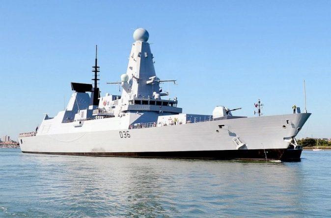 """Общество: Daily Mail: эсминец ВМС Британии """"Defender"""" готовил ответный удар по российским силам"""