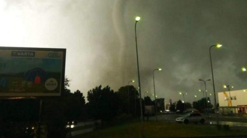 Общество: В Лондоне пронесся мощный торнадо