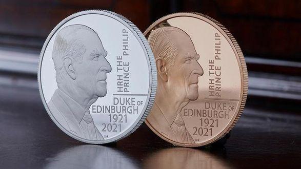 Общество: В Англии выпустили монету в честь принца Филиппа