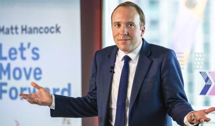 Общество: Глава минздрава Великобритании ушел в отставку из-за поцелуя с помощницей