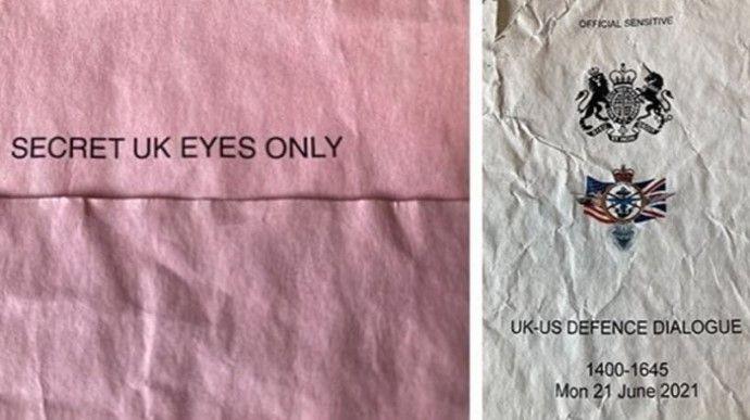 Общество: На автобусной остановке в Британии нашли секретные документы о проходе эсминца у Крыма (фото) — BBC
