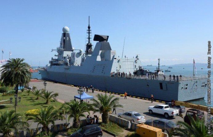 Общество: На остановке в Англии нашли секретные документы об эсминце Defender