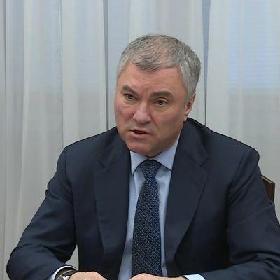 Общество: Володин призвал ООН осудить действия Великобритании в Черном море