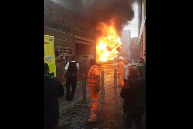 Общество: В Лондоне произошел взрыв на железнодорожной станции
