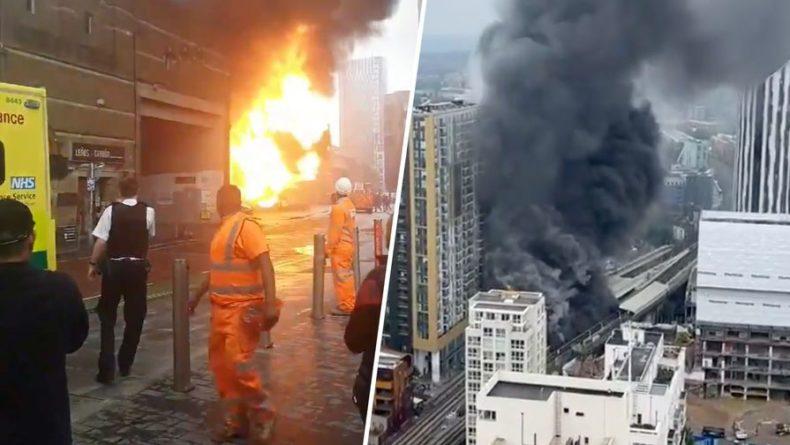 Общество: В Лондоне прогремел мощный взрыв