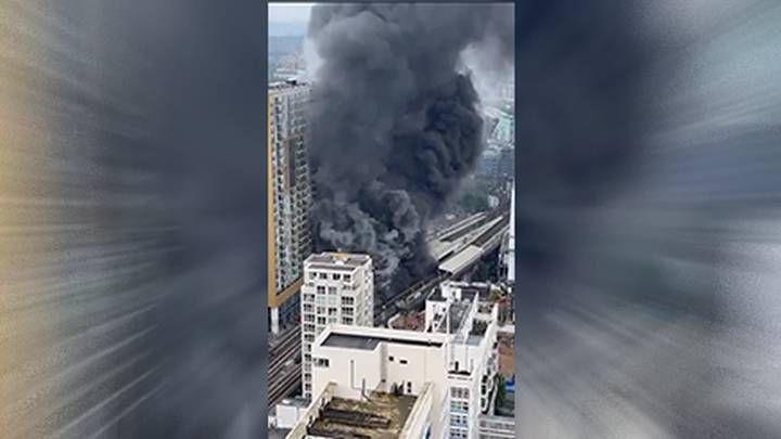 Общество: Мощный взрыв прогремел около станции метро в центре Лондона