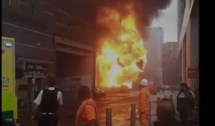 Общество: В центре Лондона у станции метро прогремел взрыв
