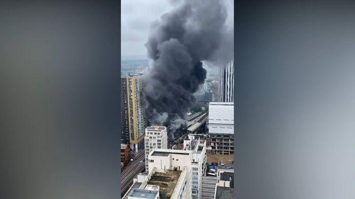 Общество: При взрыве в Лондоне пострадал один человек