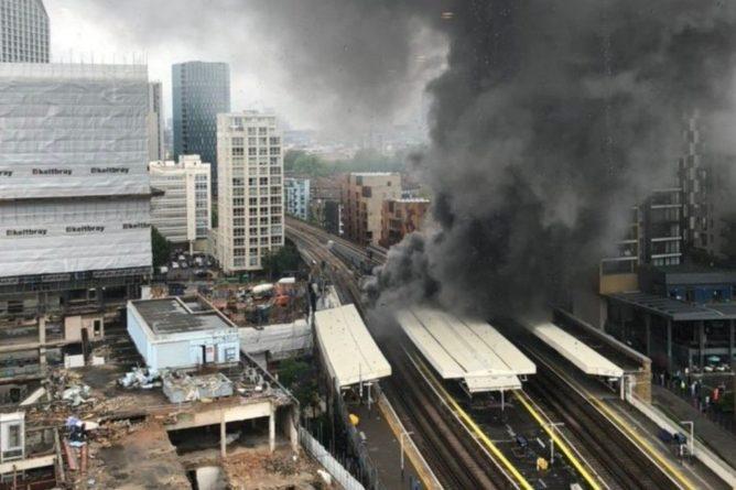 Общество: Мощный взрыв в Лондоне попал на видео