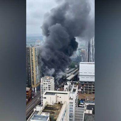 Общество: В центре Лондона произошел крупный пожар