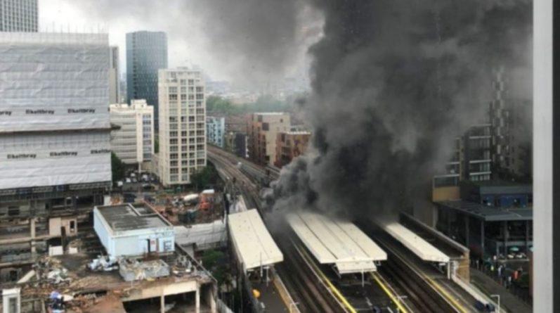 Общество: В центре Лондона произошел мощный взрыв и вспыхнул пожар