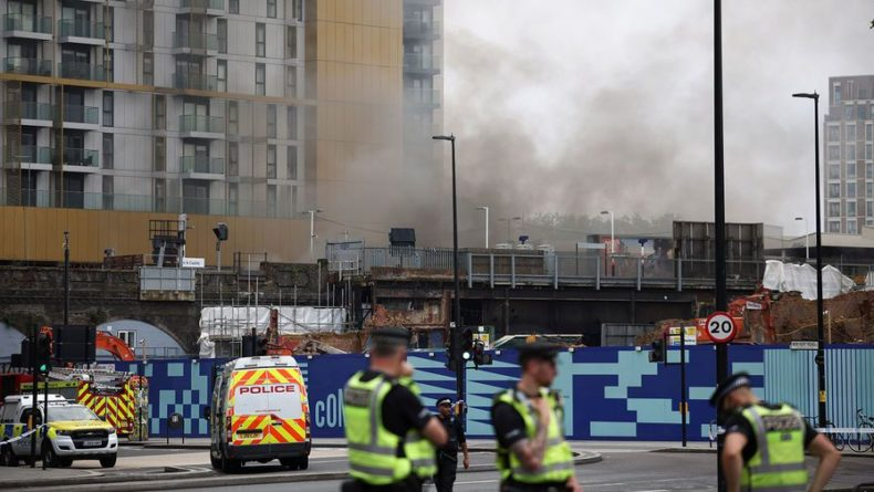 Общество: Очевидцы рассказали подробности взрыва в центре Лондона