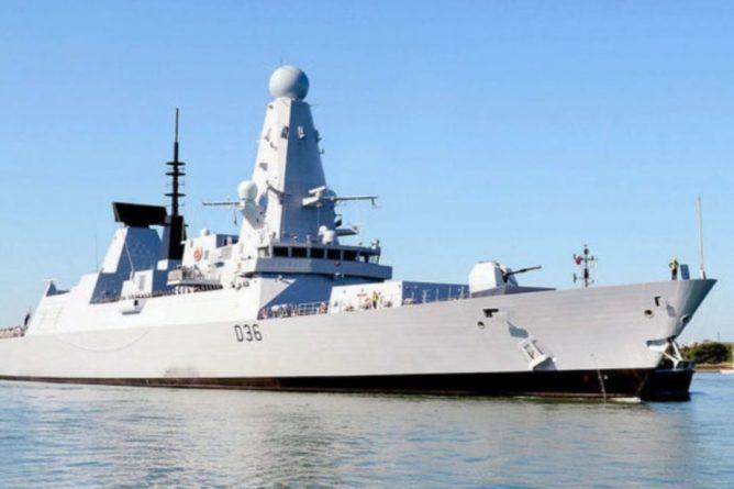 Общество: Минобороны Великобритании объяснило потерю документов по эсминцу Defender