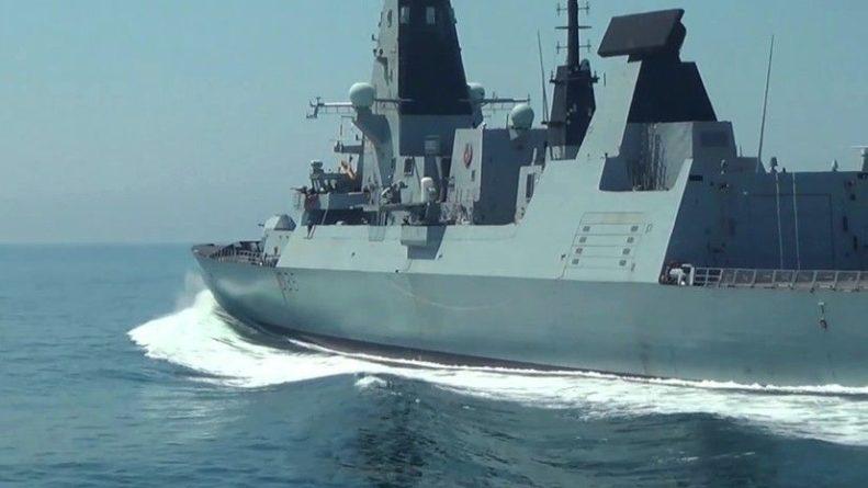 Общество: В Британии прокомментировали потерю документов об операции эсминца Defender