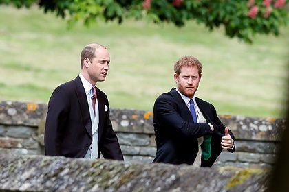 Общество: В Британии усомнились в возможности примирения принцев Уильяма и Гарри