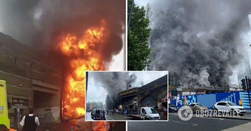 Общество: В метро Лондона прогремел масштабный взрыв - фото и видео ЧП