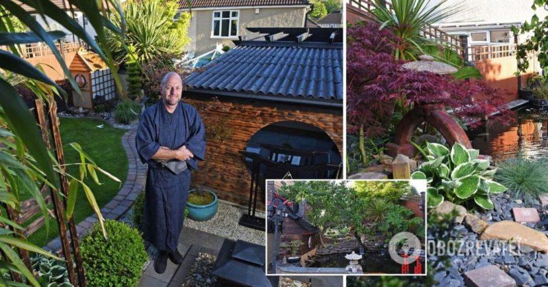 Общество: В Англии мужчина 10 лет строил сад мечты в японском стиле, фото и видео