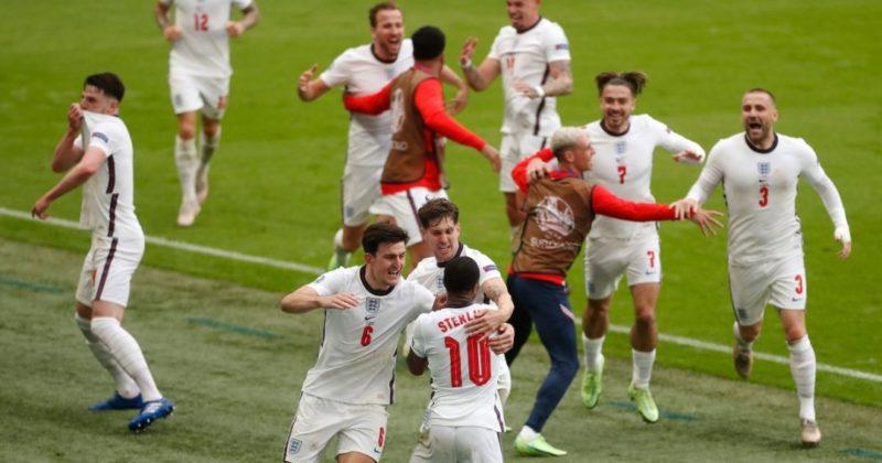 Общество: Рахим Стерлинг и Гарри Кейн забили решающие голы в матче Англия - Германия на Евро-2020