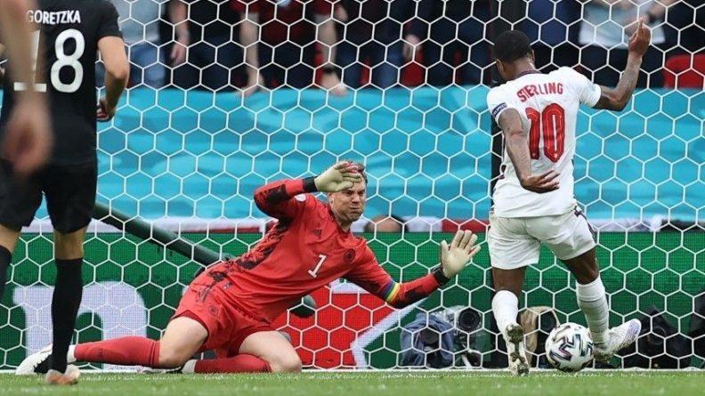 Общество: Сборная Англии обыграла Германию и вышла в четвертьфинал Евро-2020