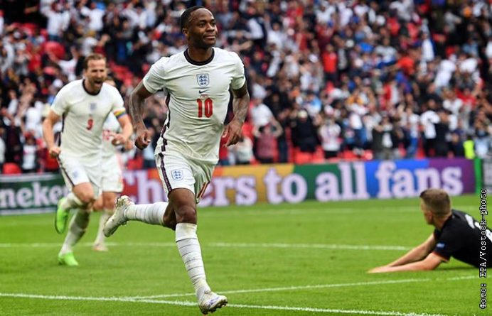 Общество: Англия победила Германию и вышла в четвертьфинал Евро-2020