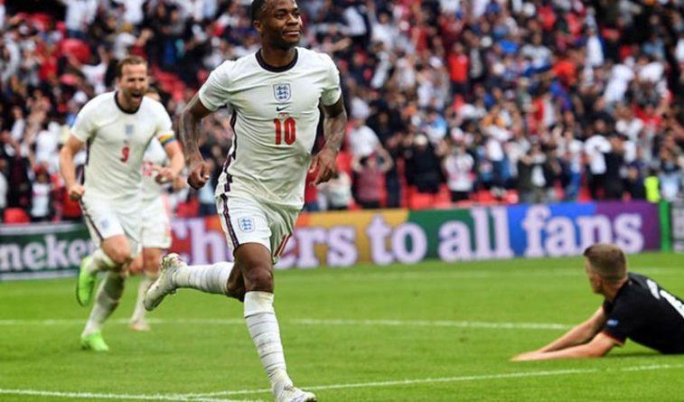 Общество: Cборная Англии обыграла на Евро-2020 команду Германии со счетом 2:0