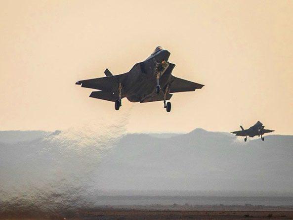 Общество: F-35 Израиля, США и Великобритании провели совместные учения