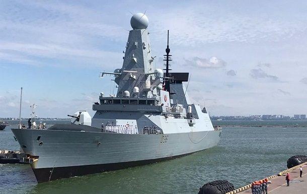 Общество: В Британии ответили на слова Путина об эсминце