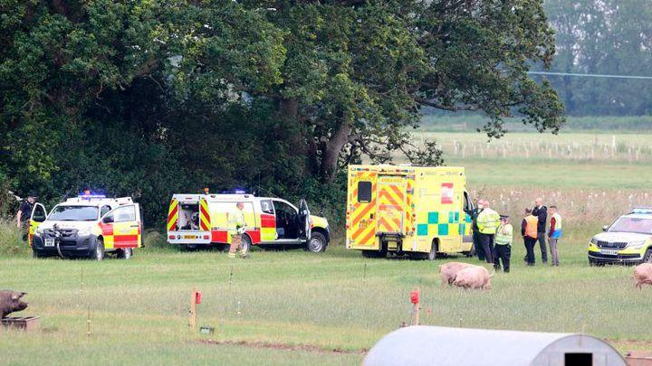 Общество: Авиакатастрофа в Англии унесла жизни 2 человек