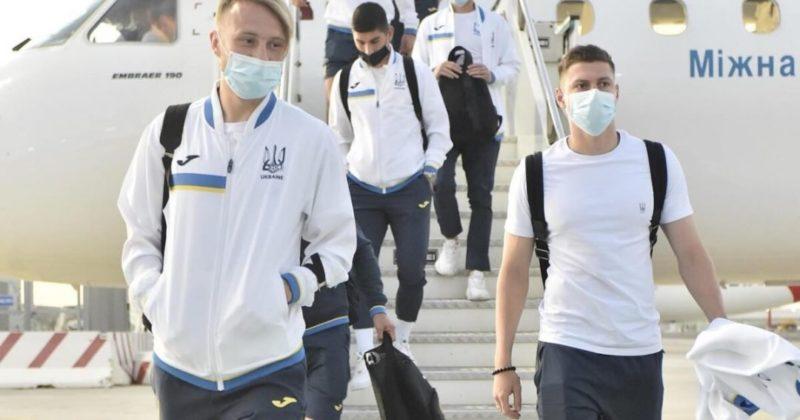 Общество: Евро-2020: сборная Украины прибыла в Рим на матч с Англией