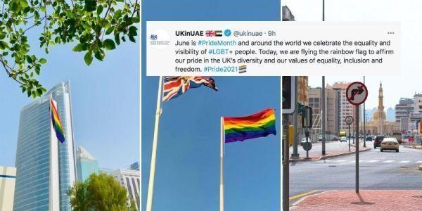 Общество: В Эмиратах возмутились «ЛГБТ-выходкой» посольств США и Британии