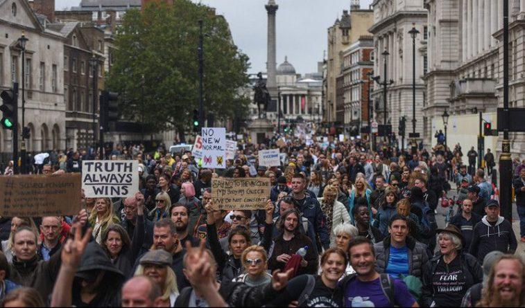 Общество: «Это геноцид, просыпайтесь!»: Лондон мощно ответил на принуждение к вакцинации
