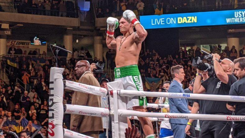 Общество: Боксер Усик извинился перед сборной Англии за будущую победу Украины