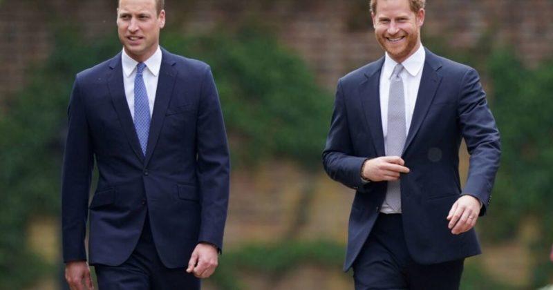 Общество: Принцы Гарри и Уильям в Лондоне открыли памятник своей матери Диане