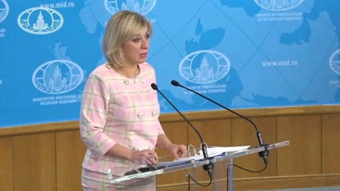 Общество: Захарова пригласила посла Британии в Киеве посетить Крым, но только не на эсминце