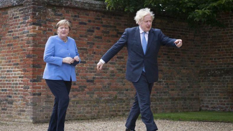 Общество: Последний визит Меркель в Лондон