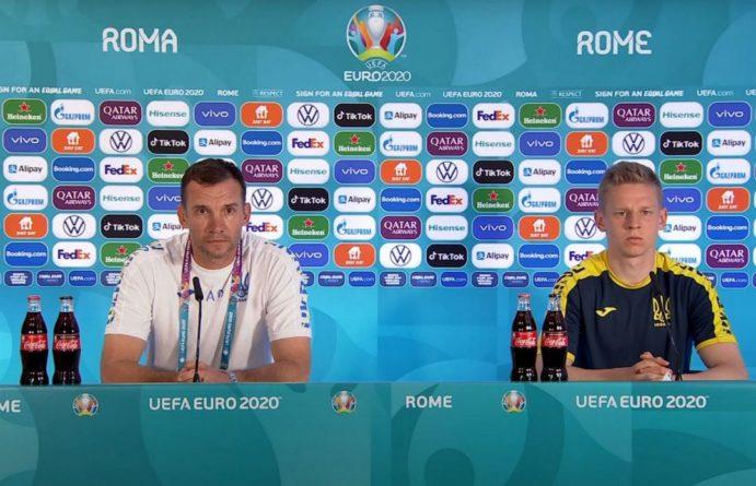 Общество: Перед матчем Украина — Англия Шевченко и Зинченко провели пресс-конференцию на русском языке (видео)