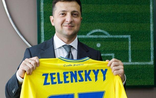 Общество: Зеленский пообщался со сборной Украины перед матчем против Англии