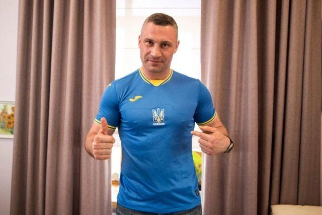 Общество: Кличко верит в победу сборной Украины над Англией в четвертьфинальном поединке Евро-2020